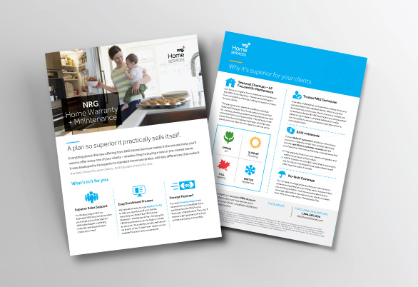 NRG Home Services flyer