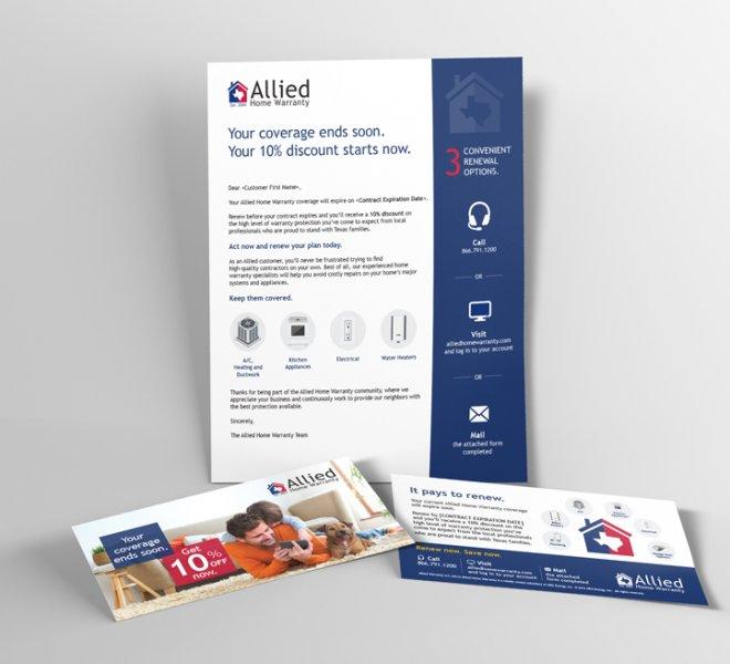 Allied home warranty bill insert
