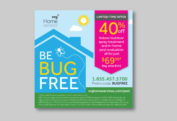 NRG Home Services ad