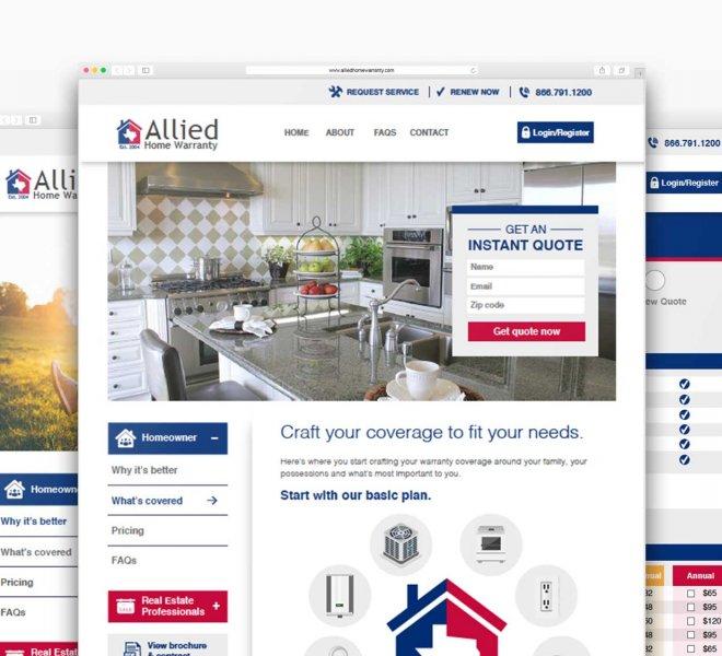 allied Home warranty-website