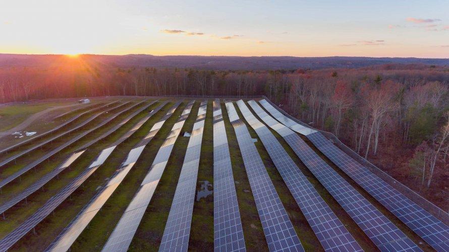 Community Solar farm MA
