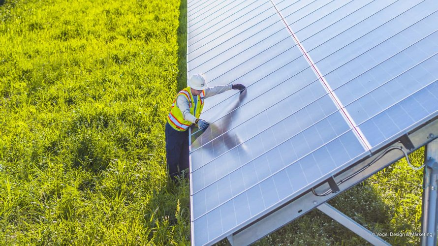 NRG Community Solar Farm Technician