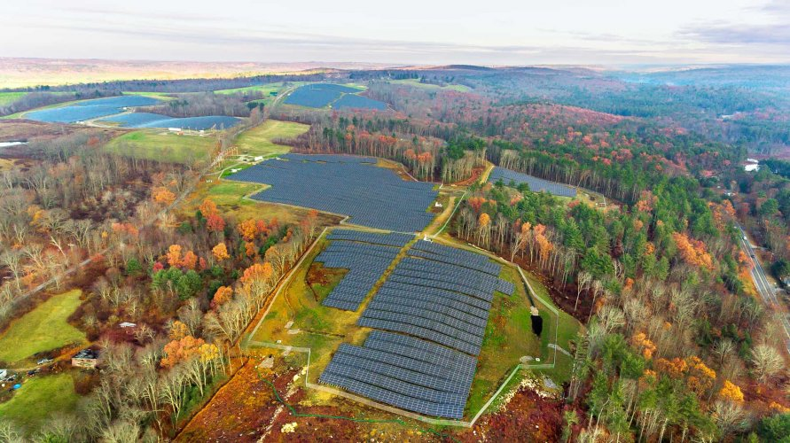 NRG Community Solar Farm Spencer, MA