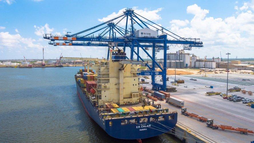 Port Freeport Dock
