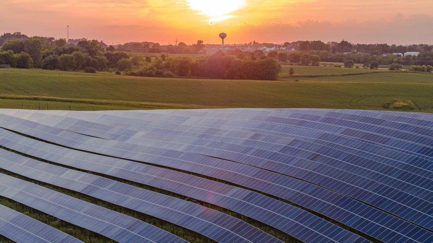NRG Community Solar Farm MN