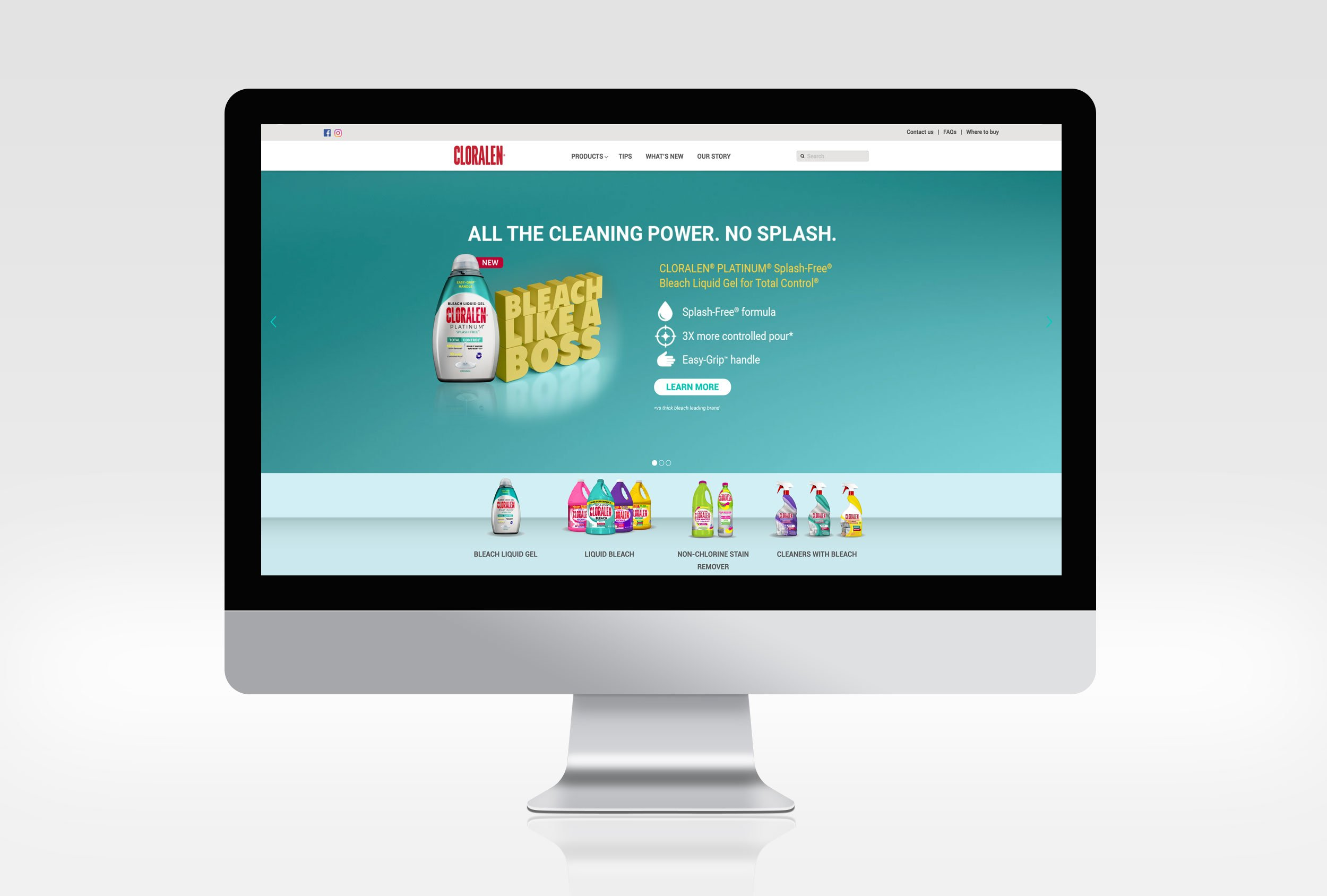 Cloralen-Website-Homepagelow