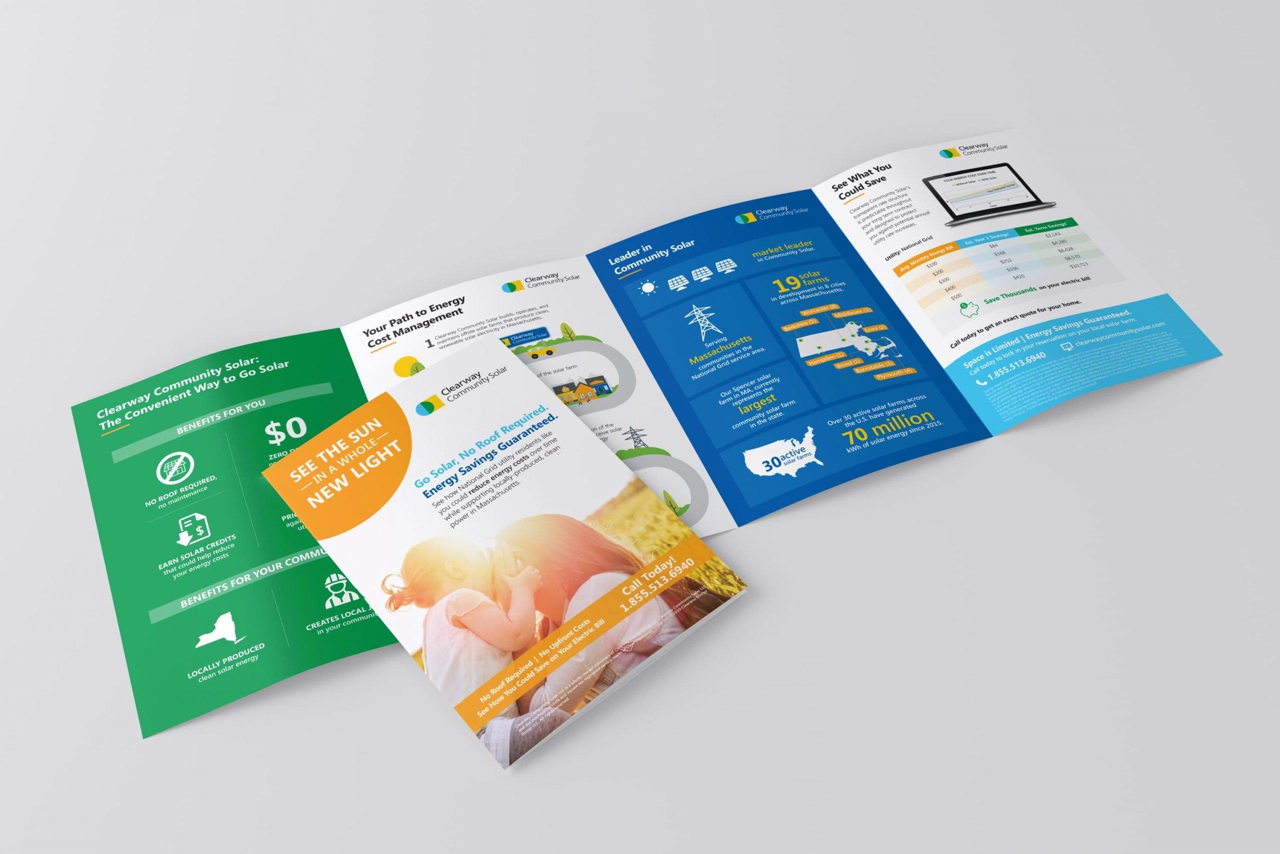 Clearway-community-solar-Gatefold-brochure