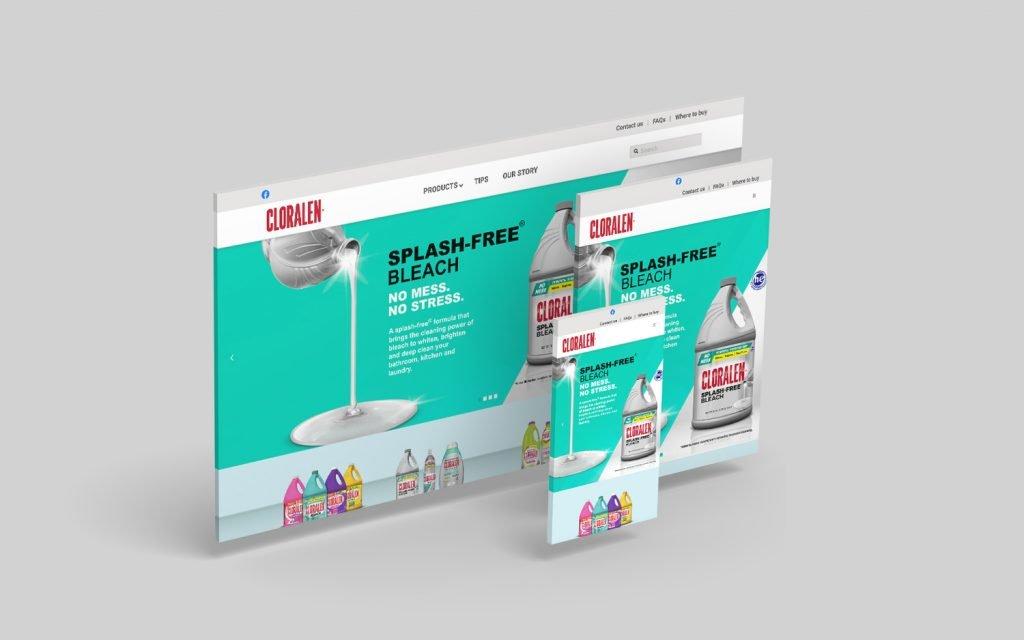 cloralen website responsive