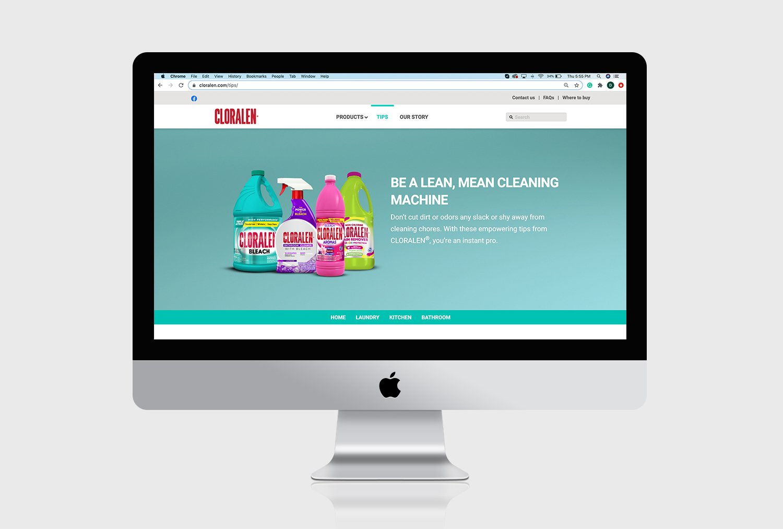 cloralen website imac