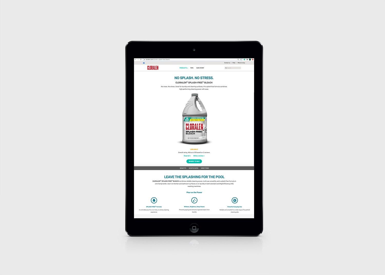 cloralen website ipad